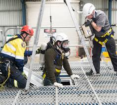 Confined space rescue plan