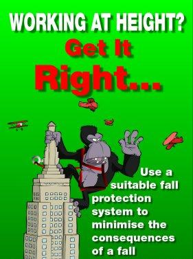 Safety Poster Working At Height